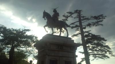 伊達政宗騎馬像20120616