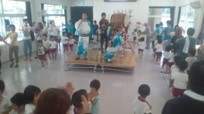 幼稚園松山踊り20120718