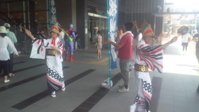 岡山駅PR20120728