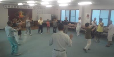 建労踊り練習20120806