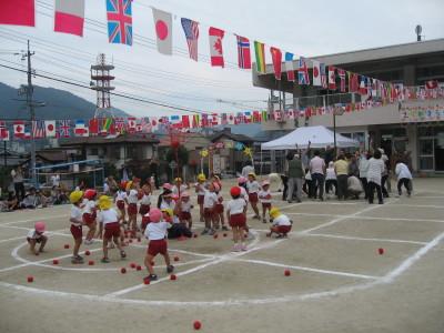 幼稚園運動会20120929