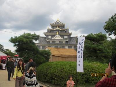 岡山城120121008