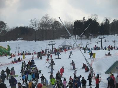 千屋スキー場20150211