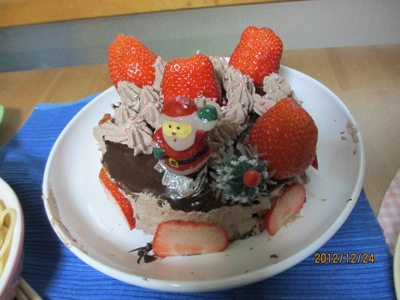 ケーキ20121224