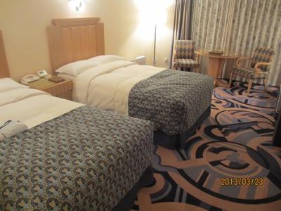 ホテル部屋20130323
