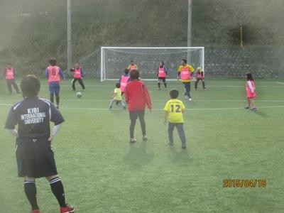 サッカー教室220150418