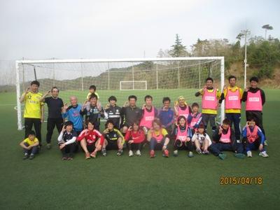 サッカー教室320150418