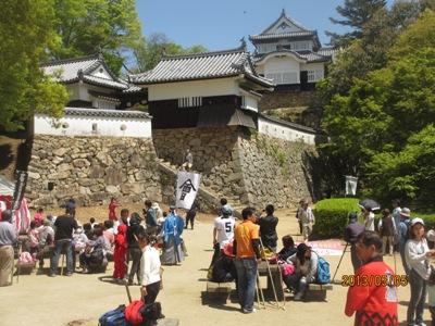 3日めお城にぎわい20130505