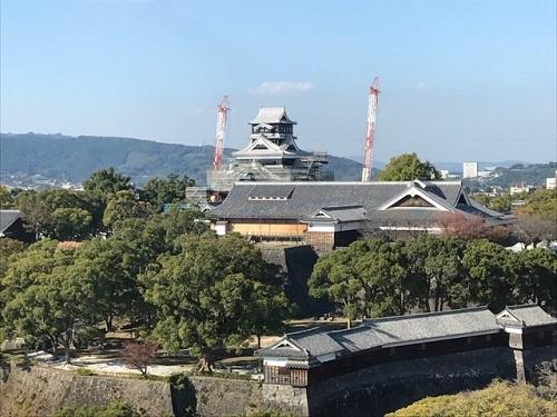 熊本城20181104