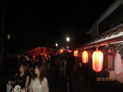 花火夜店20130728