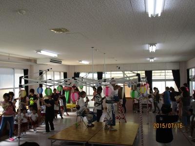 幼稚園松山踊り20150716