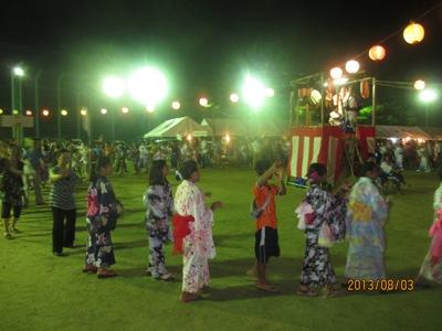 有漢松山踊り20130804