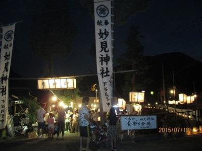 神社夏まつり220150718