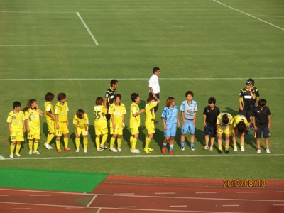 ジェフ試合後20130818
