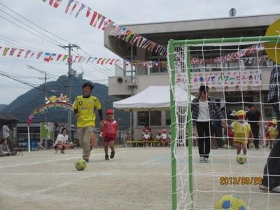 運動会サッカー20130928