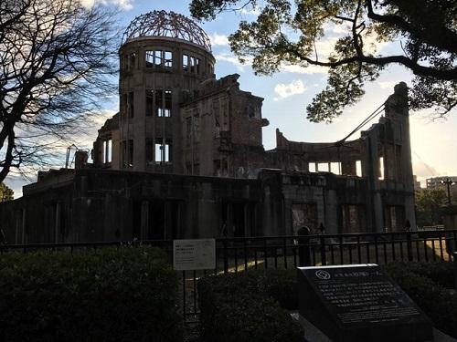 原爆ドーム20181230