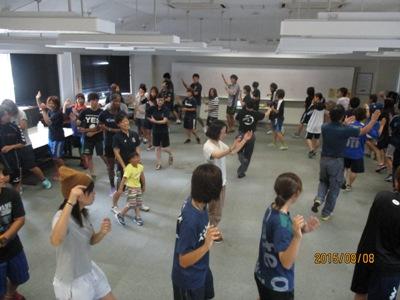 シャルム松山踊り練習20150808
