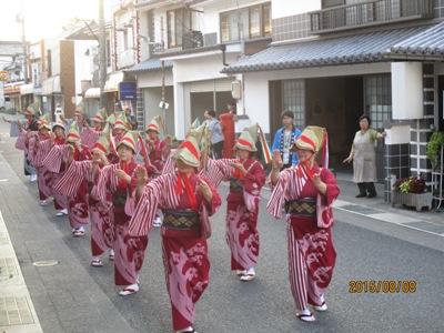 矢掛松山踊り20150808