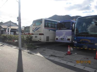 バス4台20131130