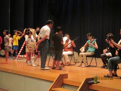 子供音頭練習20140702
