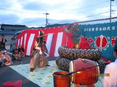 成羽子供神楽20140705