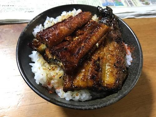 うな丼20190727