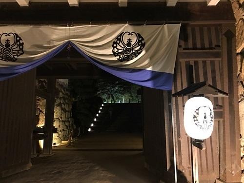 岡山城20190801