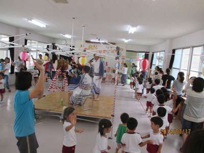 幼稚園松山踊り20140717