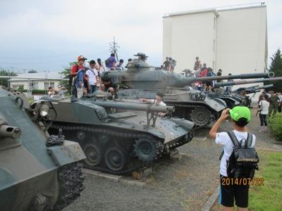 自衛隊戦車20140722