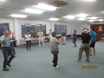 建労松山踊り20140804