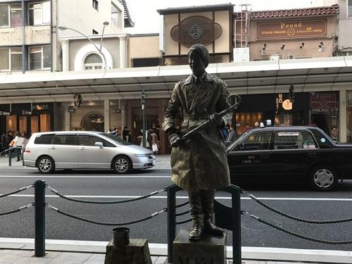 銅像20171210