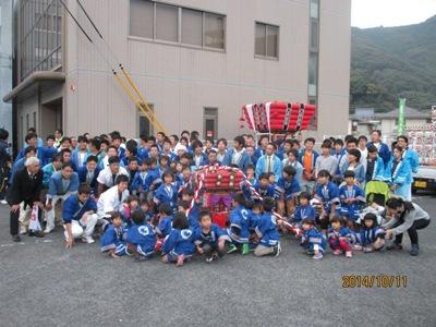 千載楽記念写真20141011
