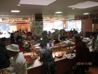 視察レストラン20141105