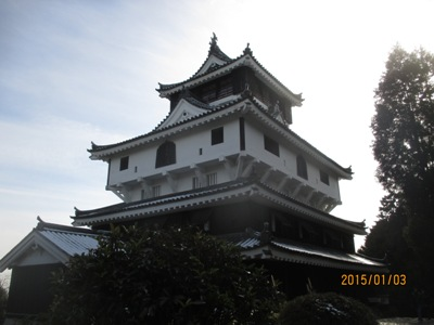 岩国城天守20140103